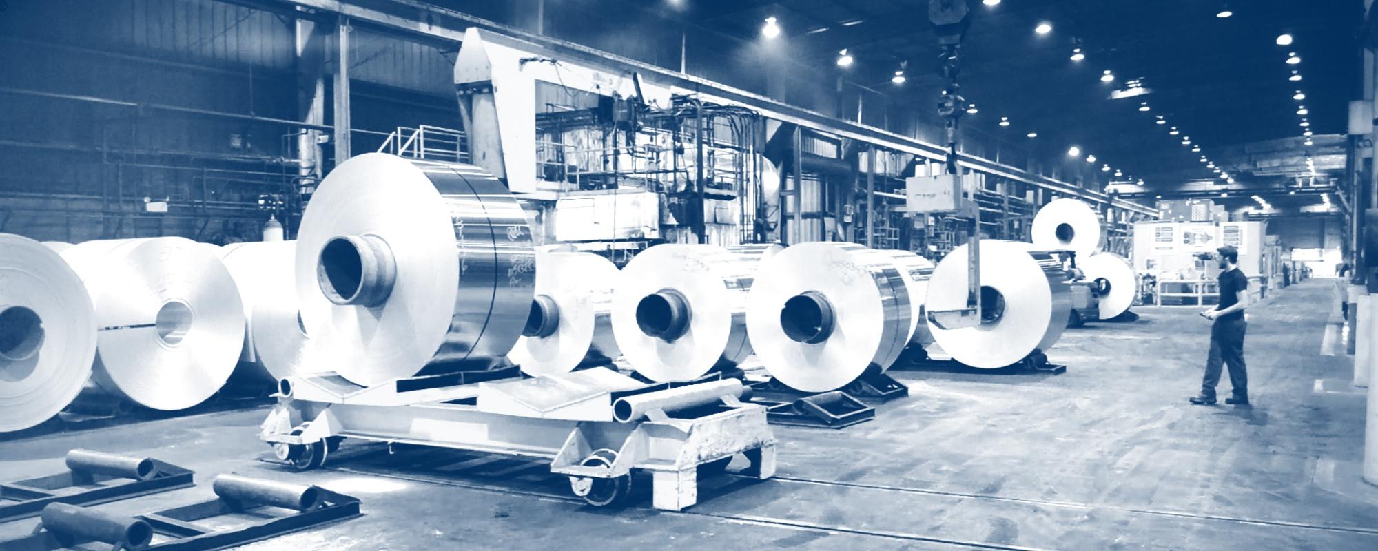 JW Aluminum Building Sheet Fin Stock Converter Foil Honeycomb Foil