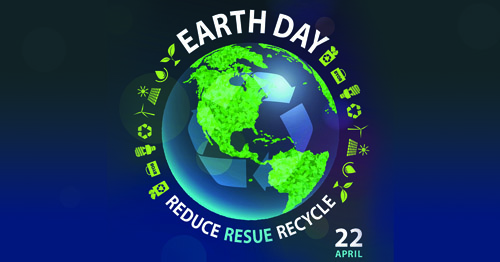 Earth Day 2021 Recycle Aluminum